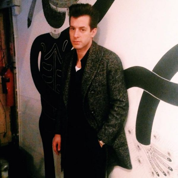 MARK RONSON SWINGS BY!